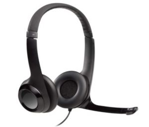 Logitech H390 Wired Headset, Stereo Headphones