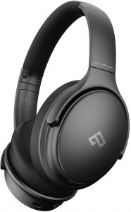 NFURTURE Active Noise Cancelling Headphones with Microphone,